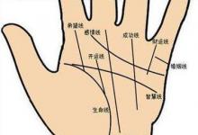 女人右手手相图解大全,女人右手手相怎么看
