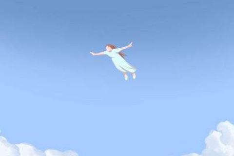 梦见自己飞