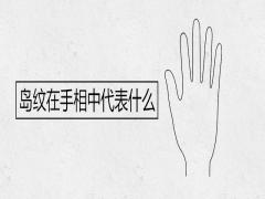 岛纹在手相中代表什么