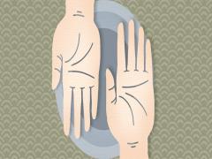 女人手掌中间有条竖线代表什么一生的运气好不好