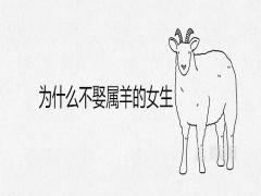 为什么不娶属羊的女生真的克夫吗