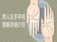 男人的左手的手相图解详细介绍