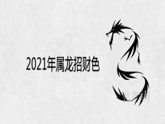 2021年属龙招财色