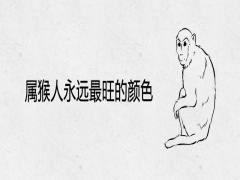 属猴人永远最旺的颜色
