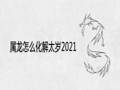 属龙怎么化解太岁2021