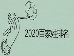 2020百家姓前300排名列表