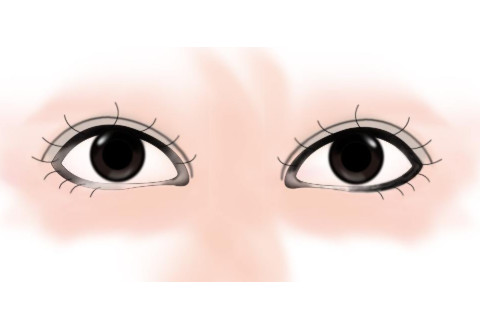 从眼睛分析工作态度