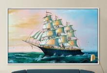 一帆风顺装饰画挂在哪里好?