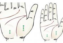 手掌有通天掌纹的含义 富贵过人